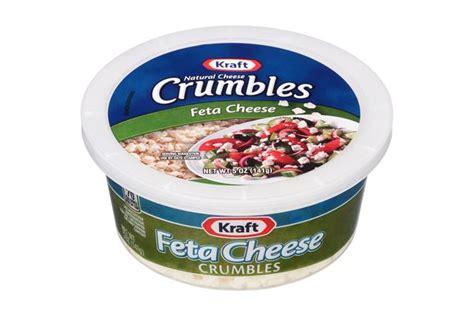 cheese tub kraft cheese feta cheese crumbles 5 oz tub kraft