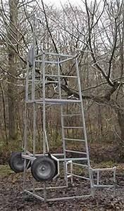 Free Deer Stand Building Plans Blinds Ladder Platform