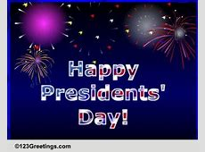 Presidents' Day Cards, Free Presidents' Day Wishes