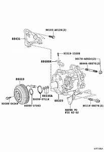 Toyota Sienna A  C Compressor