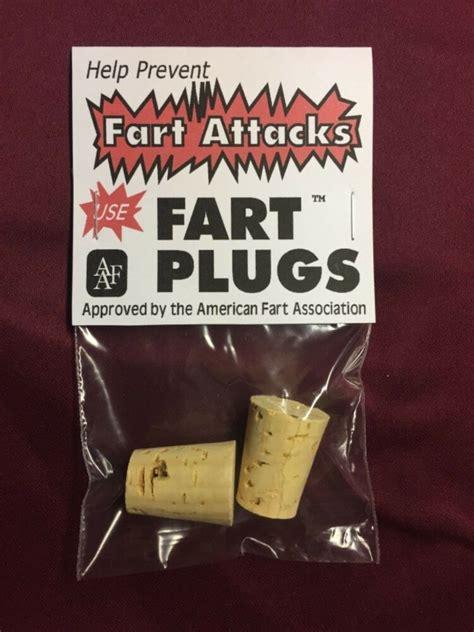 fart plugs gag gift funny stocking stuffer white elephant