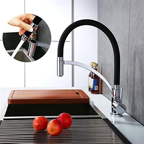 robinet douchette cuisine pas cher homelody robinet de cuisine tuyau souple en silicone noir