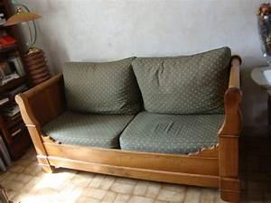 bois lit merisier occasion clasf With lit canapé occasion