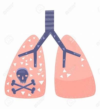 Lungs Lung Disease Cancer Clip Radon Clipart