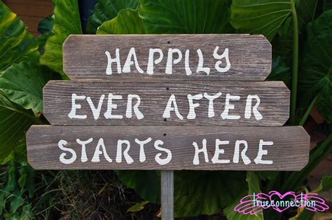 Wedding Signs by Happily After Starts Here Wood Wedding Signs Rustic