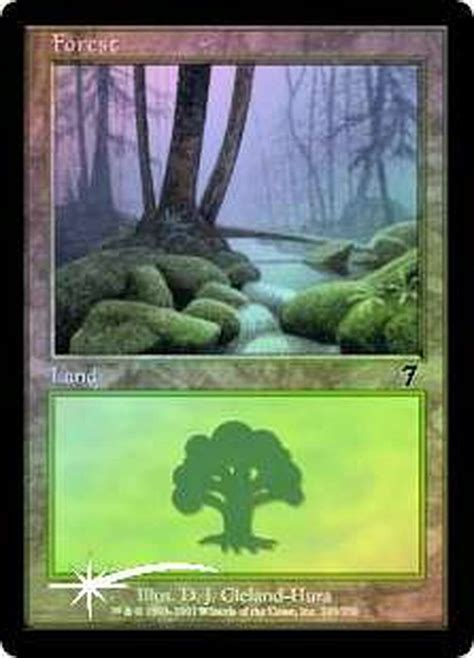 Find land cards mtg from a vast selection of collectible card games. Magic The Gathering 7th Edition Single Card Basic Land Forest Random Artwork, Foil - ToyWiz