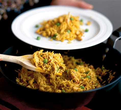 curried chicken cashew rice recipe bbc good food