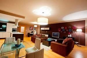 Osvětlení obývacího pokoje a kuchyně