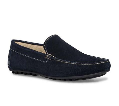 mocassin cro 251 te de cuir bleu mocassins chaussures homme