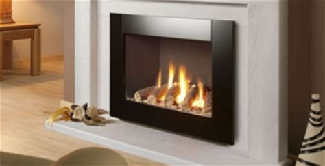 open flame gas l nu flame gas fires uk glass fronted landscape fires