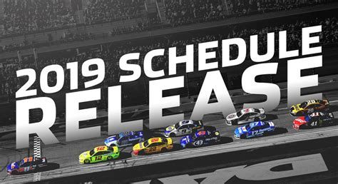 nascar reveals monster energy series schedule nascarcom