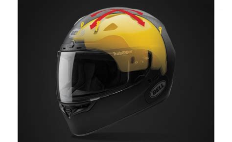 Bell Helmets Incorporating Multi-directional Impact