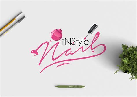 Nail Polish logo Photography logo Premade logo Pre-Made