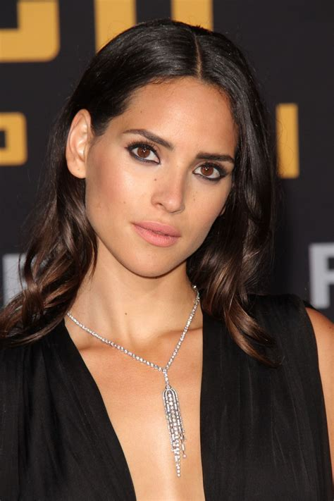 adria arjona pacific rim uprising premiere  hollywood