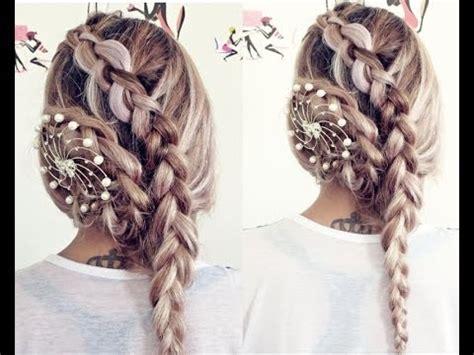 penteado trancado  casamento cabelos longos braided wedding hairstyle  long hair youtube