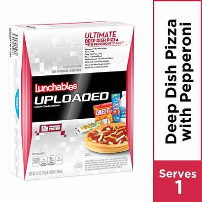 Lunchables Uploaded Pizza Walmart Dish Deep Ultimate