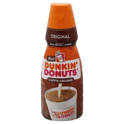 When using this creamer i dont even need sugar. Dunkin' Donuts Original Flavor Liquid Coffee Creamer - Shop Coffee Creamer at H-E-B
