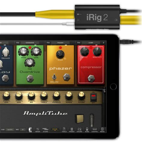 irig for android ik multimedia irig 2 guitar interface for ios android and