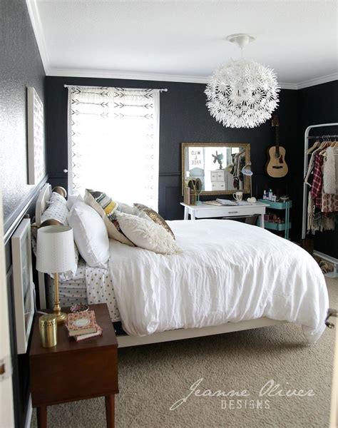rooms  black walls dream room bedroom teen