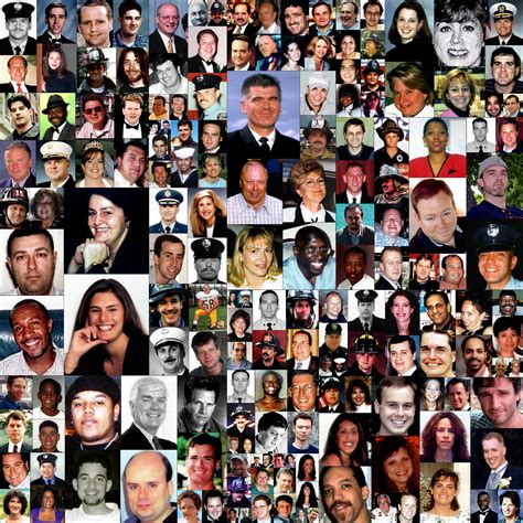 9 11 Victims Last Name B Picture Collage Photo Pictures