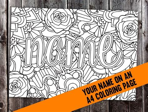 customized  coloring page projects