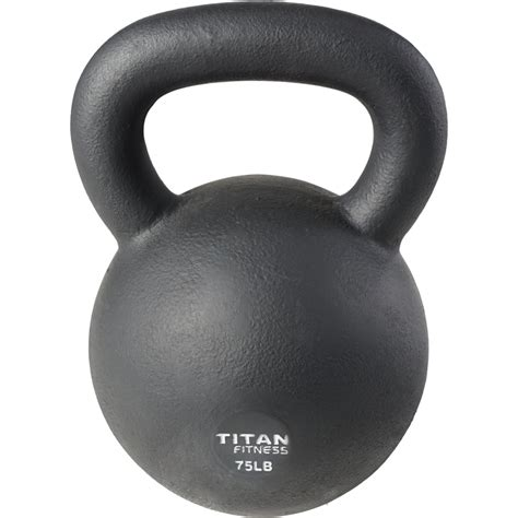kettlebell weight iron cast swing 5lb 100lb fitness titan workout solid natural boxing