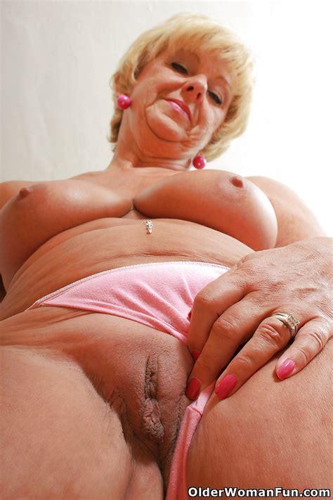 66 Year Old And British Grandma Samantha From