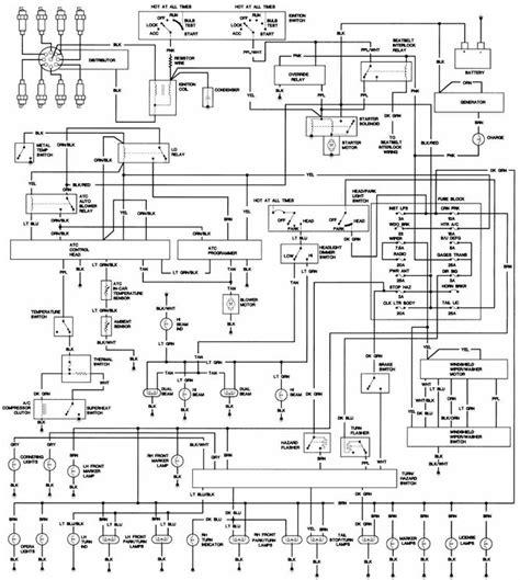 1999 Cadillac Ignition Wiring Diagram cadillac wiring diagrams