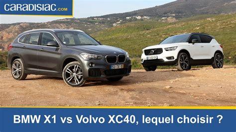Volvo Xc40 Vs Bmw X1, Lequel Choisir ?