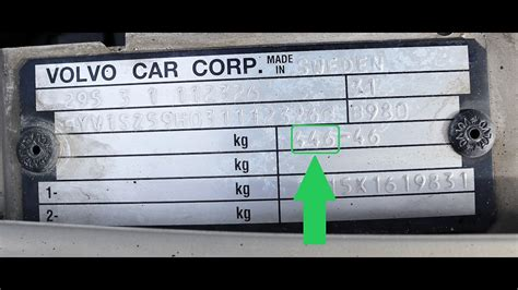 how to find your volvo paint code erapaints