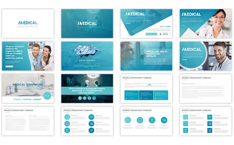 medical  template powerpoint template