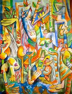 wifredo lam paintings