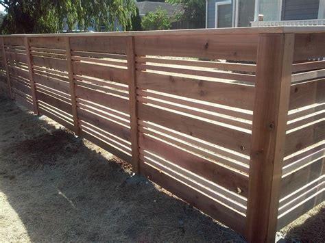 The 25+ Best Horizontal Fence Ideas On Pinterest