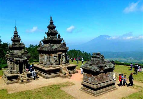 jelang libur akhir  candi gedong songo berbenah portal berita bisnis wisata
