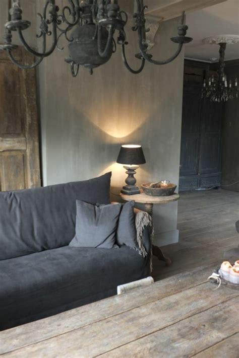Wandfarbe Grau Weiße Möbel by Die Graue Wandfarbe 43 Interieur Ideen Damit Archzine Net