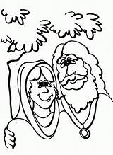 Abraham Coloring Sarah Isaac Template Wife Stars God Popular Promise His Father Calls Son sketch template