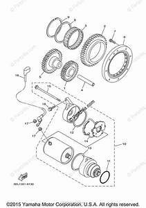 Yamaha Motorcycle 2001 Oem Parts Diagram For Starter