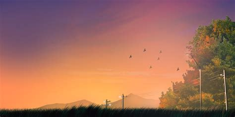 5 Cm Per Second Wallpaper Anime Background Landscape Final Vers By Jikanpulvis On Deviantart