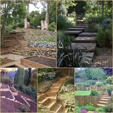 Terrasse Im Garten Anlegen by Garten Am Hang Anlegen Und Sch 246 Ne Hangbeete Bepflanzen