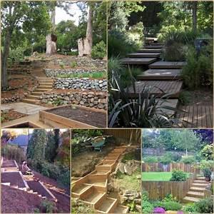Terrasse Am Hang : garten am hang anlegen beet terrassen garden walls ~ Lizthompson.info Haus und Dekorationen