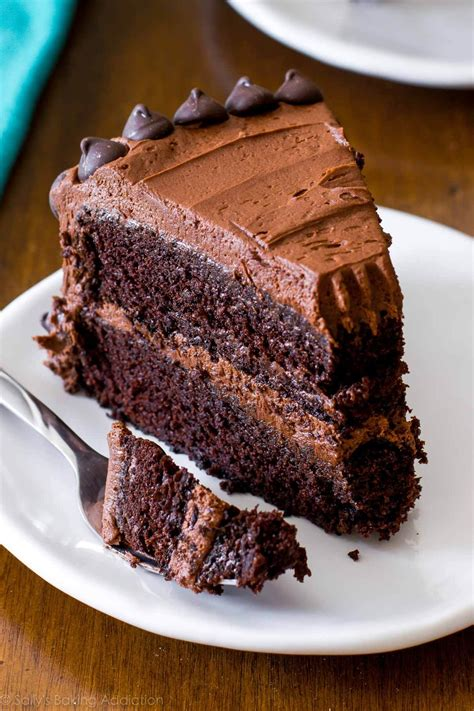 triple chocolate cake recipe sallys baking addiction