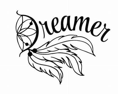 Catcher Dream Svg Silhouette Decal Cricut Dreamer