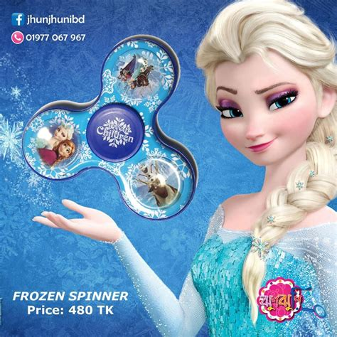 frozen metal hand spinner price  tk  inbox   call    home delivery