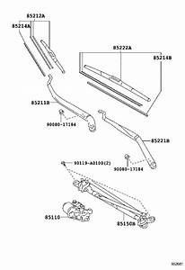 2012 Toyota Camry Windshield Wiper Blade  Left  Front