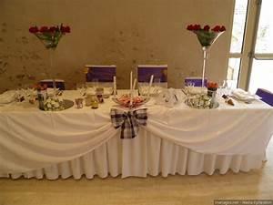 Decoration De Table Pour Mariage : table d honneur qc57 jornalagora ~ Teatrodelosmanantiales.com Idées de Décoration