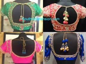 saree blouse designs silk saree blouse designs south india fashion