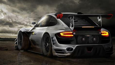 Tuning Wallpaper by Porsche Tuning Hd Desktop Hintergrund Breitbild High