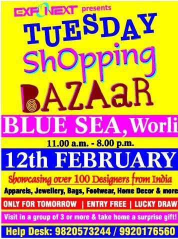 ExpoNext   Tuesday Shopping Bazaar / Mumbai   SaleRaja