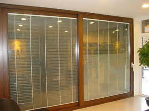 sell aluminum sliding door with blind inside guangzhou tiansheng building material business