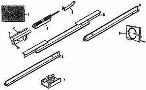 Craftsman Model 13953606 Garage Door Opener Genuine Parts